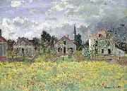 Claude Monet Maisons dArgenteuil oil painting picture wholesale