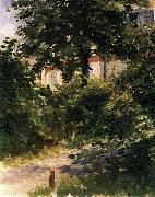 Edouard Manet Gartenweg in Rueil oil painting picture wholesale