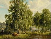 Ferdinand von Wright Summer landscape oil painting picture wholesale