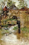 GAINSBOROUGH, Thomas The watermill oil painting picture wholesale