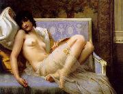 Guillaume Seignac Young woman naked oil painting picture wholesale