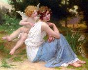 Guillaume Seignac Cupid and Psyche oil painting picture wholesale