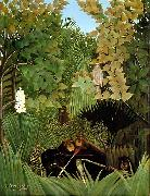 Henri Rousseau The Merry Jesters oil painting picture wholesale