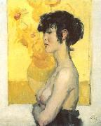 Isaac Israels Woman before oil painting picture wholesale