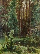 Ivan Shishkin Woodland oil painting picture wholesale