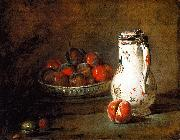 Jean Baptiste Simeon Chardin A Bowl of Plums oil painting picture wholesale