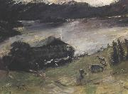 Lovis Corinth Motive from Walchensee oil painting picture wholesale