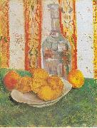 Vincent Van Gogh Still Life with Bottle and Lemons on a Plate oil painting picture wholesale