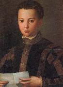 Agnolo Bronzino Portrait of Francesco I as a Young Man china oil painting reproduction