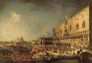 Canaletto The Reception of the French Ambassador in Venice china oil painting reproduction