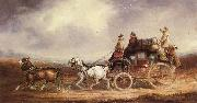 Charles Cooper The Edinburgh-London Royal Mail on the Road china oil painting reproduction
