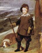 Diego Velazquez Prince Baltasar Carlos in Hunting Dress(detail) china oil painting reproduction