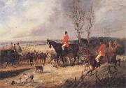 Henry Alken Jnr The Meet china oil painting reproduction
