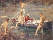 Henry Scott Tuke Ruby Gold and Malachite china oil painting reproduction