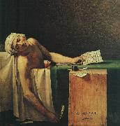 Jacques-Louis David The Death of Marat china oil painting reproduction