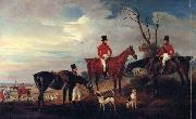 John Ferneley John,Henry and Francis Grant at Melton china oil painting reproduction