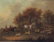 John Nost Sartorius Entering The Woods,A Hunt china oil painting reproduction