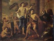 Nicolas Poussin David Victorious china oil painting reproduction