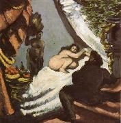 Paul Cezanne Une moderne Olympia china oil painting reproduction