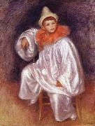 Pierre Renoir White Pierrot china oil painting reproduction