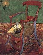 Vincent Van Gogh Gauguin's Chair china oil painting reproduction