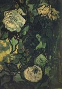Vincent Van Gogh Roses and Beetle (nn04) china oil painting reproduction