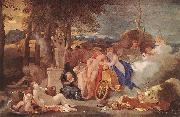 Bourdon, Sebastien Bacchus and Ceres with Nymphs and Satyrs china oil painting reproduction