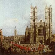 Canaletto Wastminster Abbey with the Procession of the Knights of the Order of Bath china oil painting reproduction