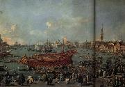 Francesco Guardi The Departure of the Doge on Ascension Day china oil painting reproduction