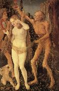 Hans Baldung Grien The Three Stages of Life,with Death china oil painting reproduction