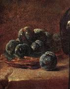 Jean Baptiste Simeon Chardin Details of Still life with plums china oil painting reproduction
