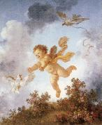 Jean-Honore Fragonard Pursuing a dove china oil painting reproduction