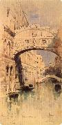 Mikhail Vrubel Venice:The Bridge of Sighs china oil painting reproduction
