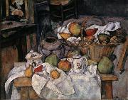 Paul Cezanne Still Life with Basket china oil painting reproduction
