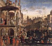 Vittore Carpaccio Cureof a Lunatic by the Patriarch of Grado china oil painting reproduction