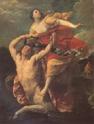 Guido Reni Deianira Abducted by the Centaur Nessus (mk05) china oil painting reproduction