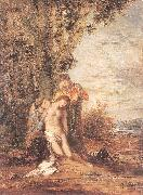 Gustave Moreau Saint Sebastian and the Holy Women china oil painting reproduction