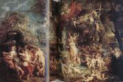 Peter Paul Rubens The Feast of Venus (mk01) china oil painting reproduction