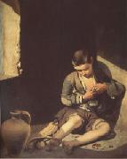Bartolome Esteban Murillo The Young Beggar (mk05) china oil painting reproduction