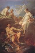 Francois Boucher Venus Requesting Arms for Aeneas from Vulcan (mk05) china oil painting reproduction