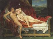 Jacques-Louis David Cupid and psyche (mk02) china oil painting reproduction