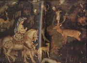 PISANELLO The Vision of St Eustace (mk08) china oil painting reproduction