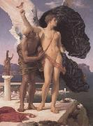 Lord Frederic Leighton Frederic Leighton,Daedalus and Icarus (mk23) china oil painting reproduction