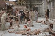 Alma-Tadema, Sir Lawrence The Women of Amphissa (mk23) china oil painting reproduction