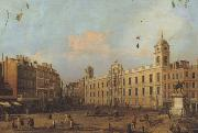 Canaletto Northumberland House a Londra (mk21) china oil painting reproduction