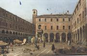 Canaletto Campo di Rialto (mk21) china oil painting reproduction