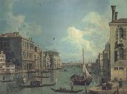 Canaletto Il Canal Grande da campo S Vio (mk21) china oil painting reproduction
