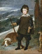 Diego Velazquez Prince Baltasar Carlos as a Hunter (df01) china oil painting reproduction