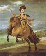 Diego Velazquez Prince Baltasar Carlos on Horseback (df01) china oil painting reproduction