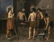 Diego Velazquez The Forge of Vulcan (df01) china oil painting reproduction